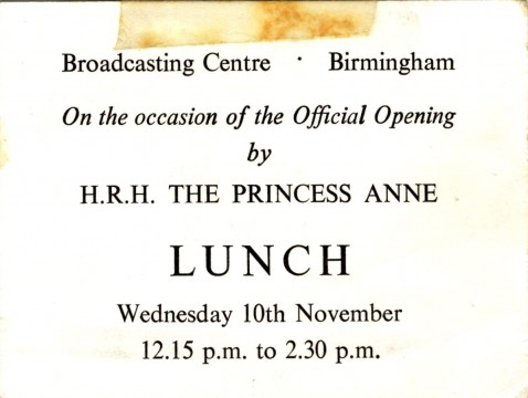 lunch ticket from Gail Herbert